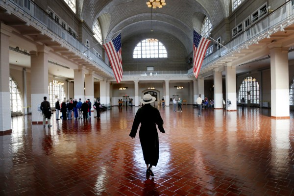 Ellis Island Reopens Post-sandy - 1 Cbs