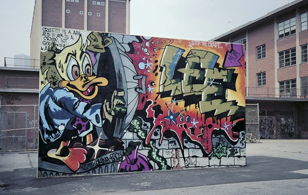 Graffiti Art - City Canvas Cbs