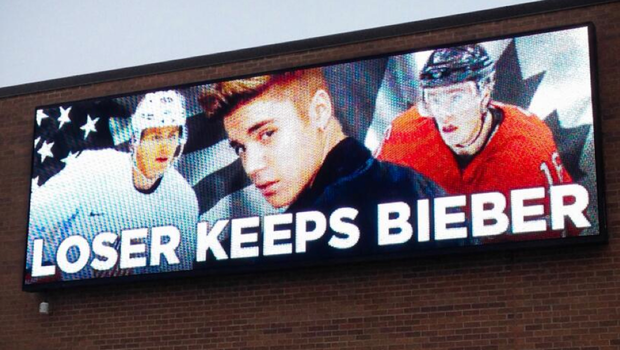 Bieber Hockey Justin Game