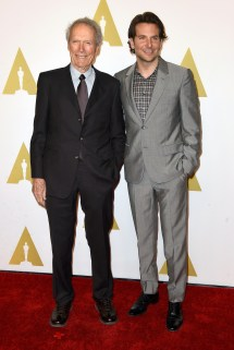 Clint Eastwood & Bradley Cooper - Oscar Nominees Luncheon