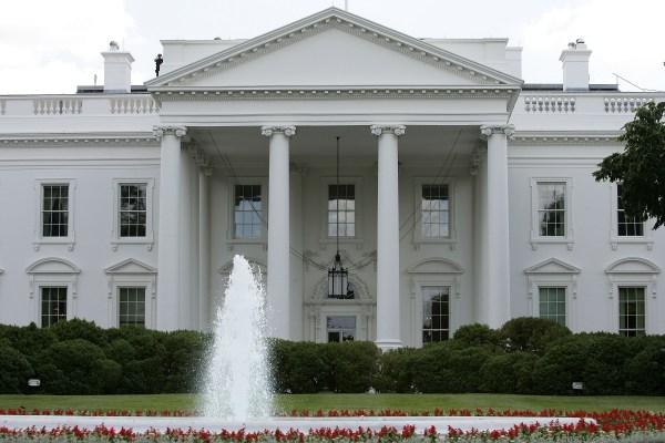 Washington DC White House Side
