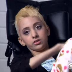 Wheelchair Killer Chair Covers Kindergarten Turned Away From A Manicure Disabled Teen Speaks Out Cbs News California Shop Turns In