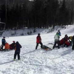 Chair Lift Accident Seat Protector Maine Chairlift At Sugarloaf Mountain Resort Injures Skiers Causes Injuries In