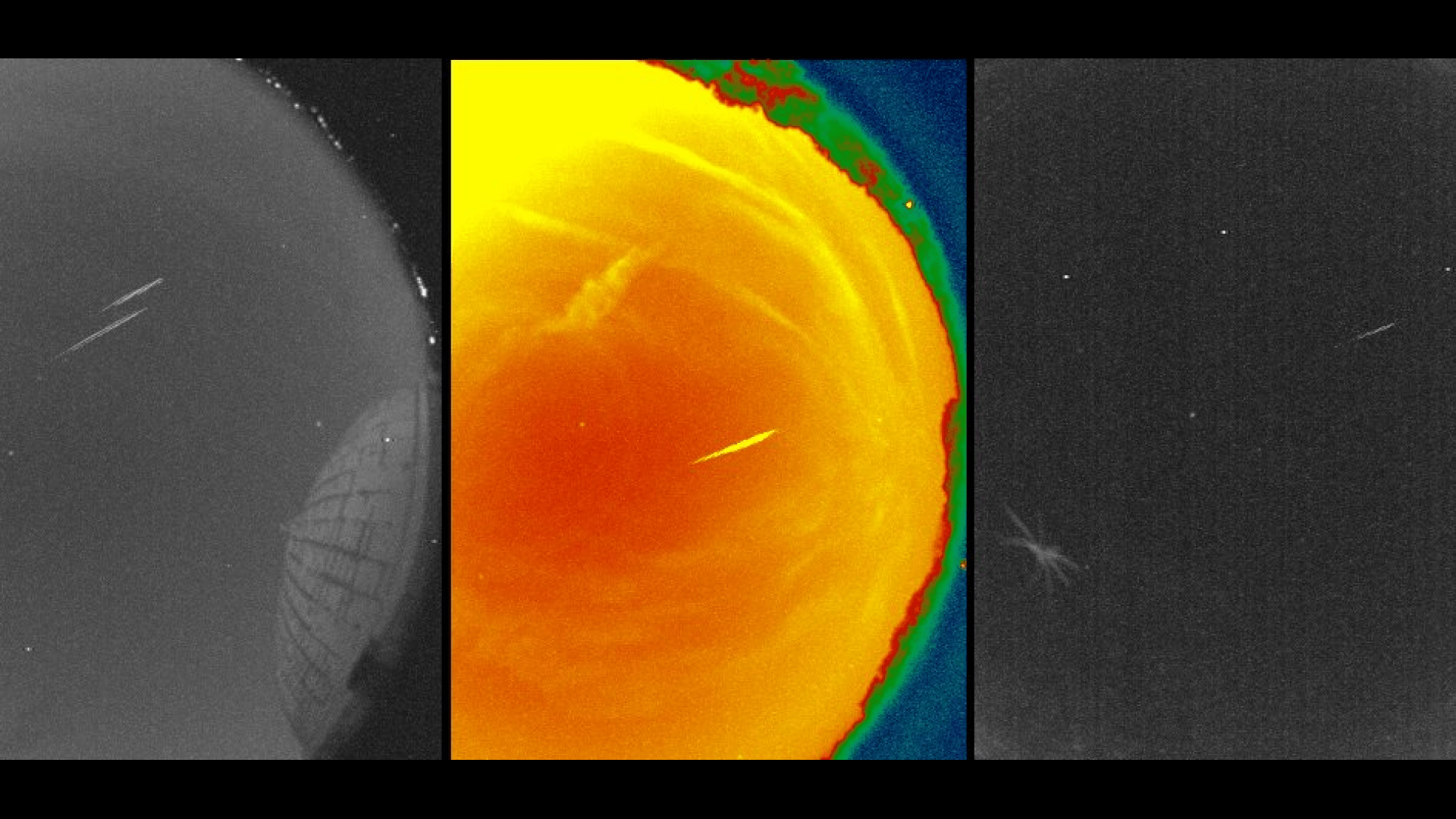 See Bits Of Halley S Comet In Eta Aquarid Meteor Shower