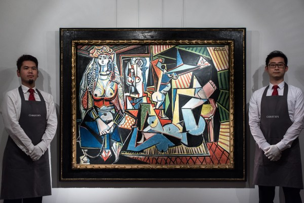 Picasso Painting Giacometti Sculpture Break Auction