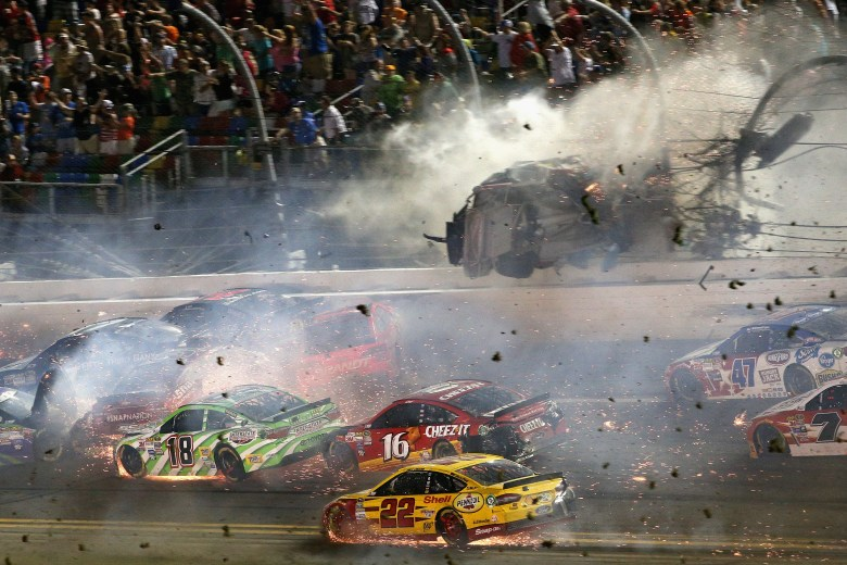 Justin Wilson - Pocono - 2015 - The worst NASCAR crashes in history - Pictures - CBS News