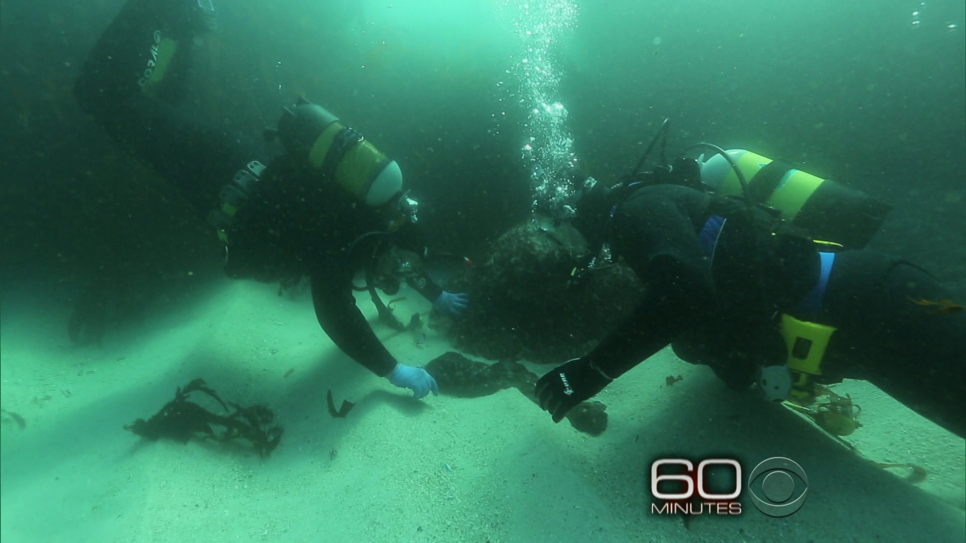 Inside A Sunken Slave Ship From 220 Years Ago CBS News