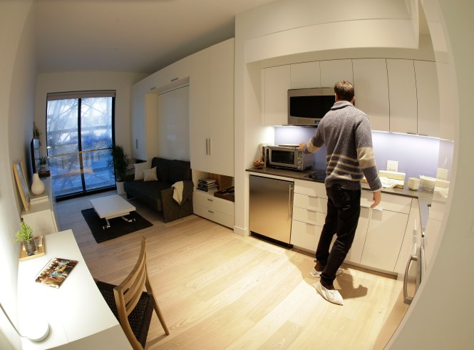 New York City May See More Micro Apartments Cbs News