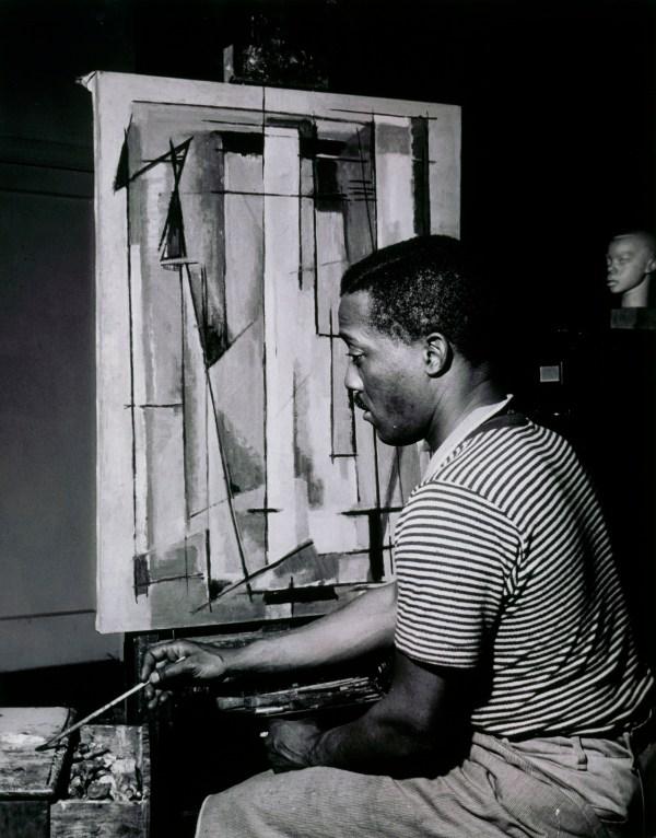 """umbrella"" - Abstract Artist Norman Lewis Cbs"