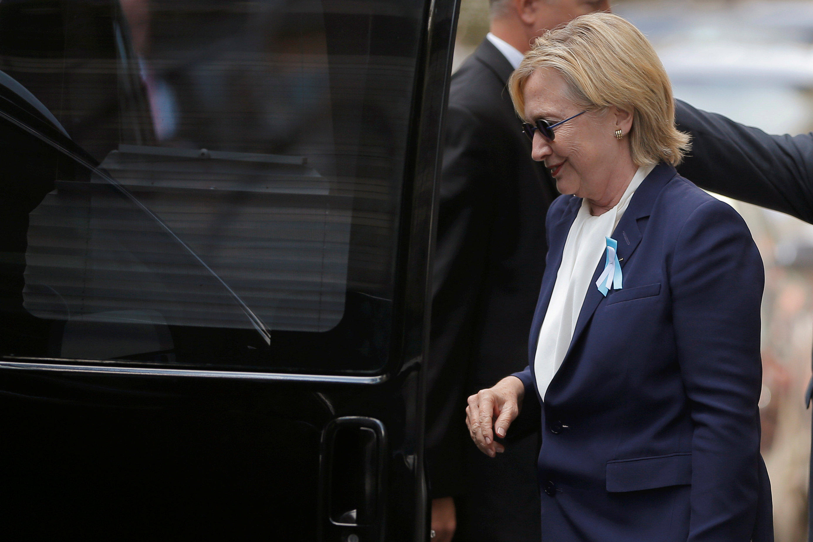 hillary clinton diagnosed with