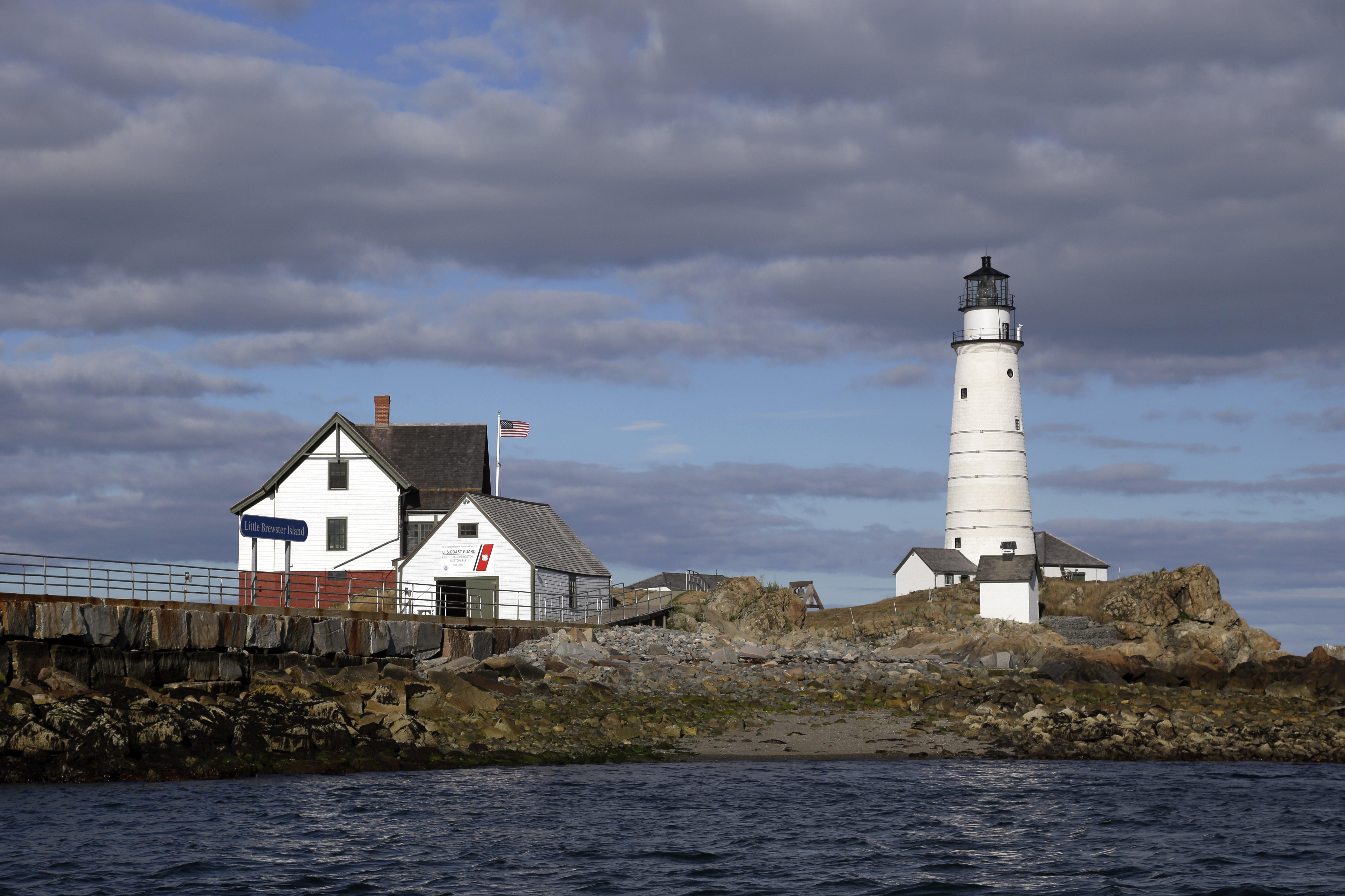 Boston Light USs oldest lighthouse honored on 300th