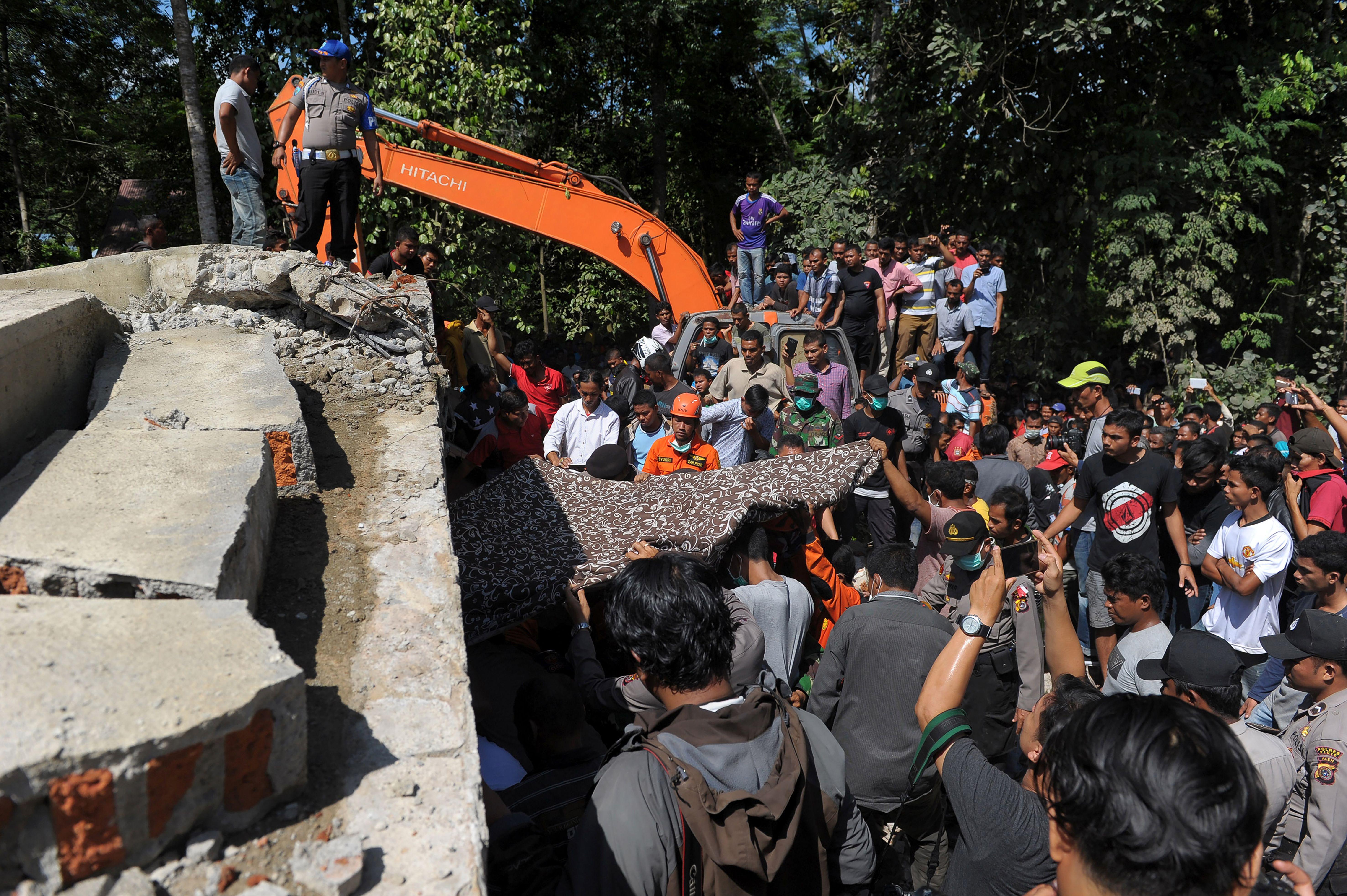 Earthquake Indonesia Today