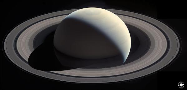 NASA Cassini Saturn Rings