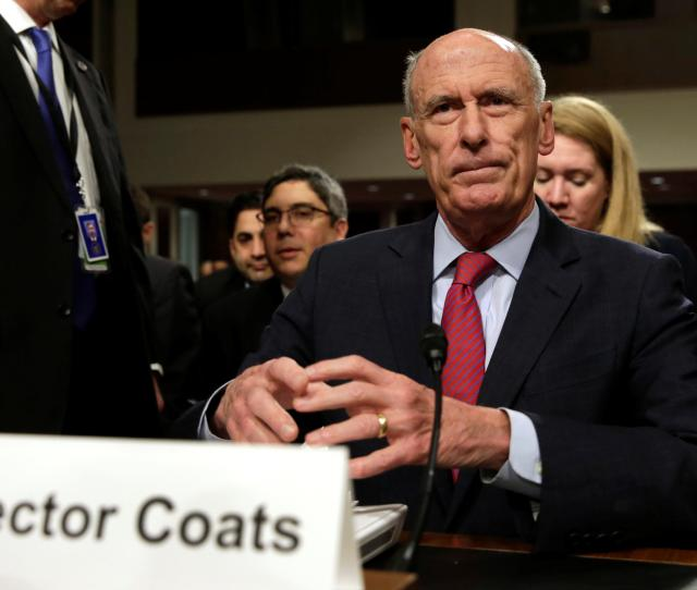 Dan Coats Wont Say Whether Trump Asked Him To Push Back