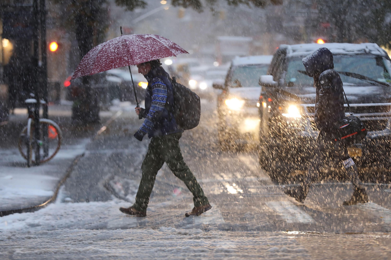 Winter Storm Today Snow Rain Hits Northeast Flight