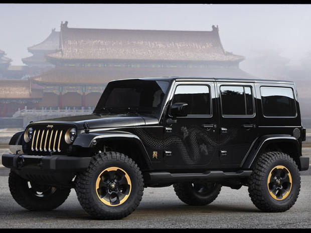 Jeep Wrangler Dragon Premieres In China Photo 1