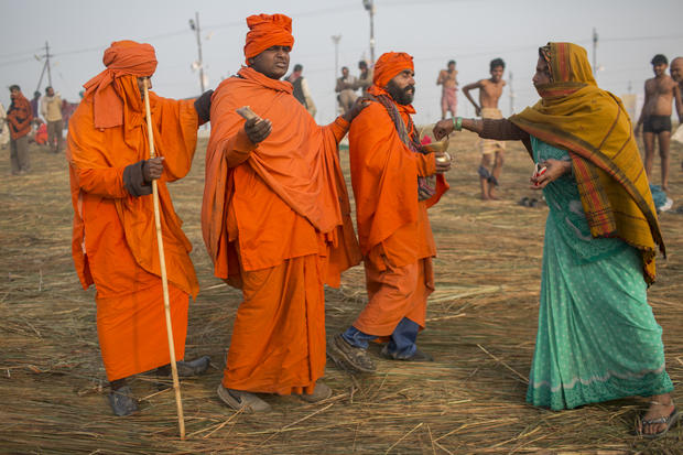 Millions travel for Hindu festival  Photo 45  Pictures  CBS News