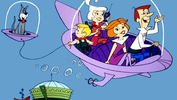 Jetson's future drones flying cars