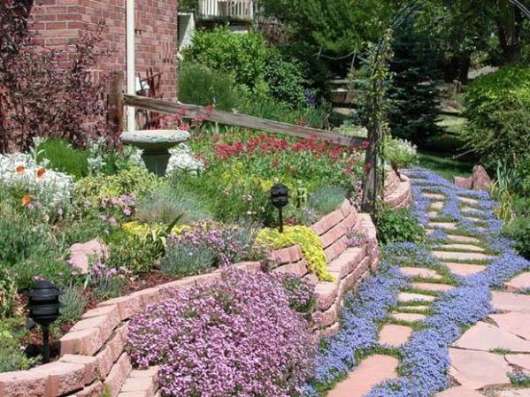 5 ways create grass-free garden