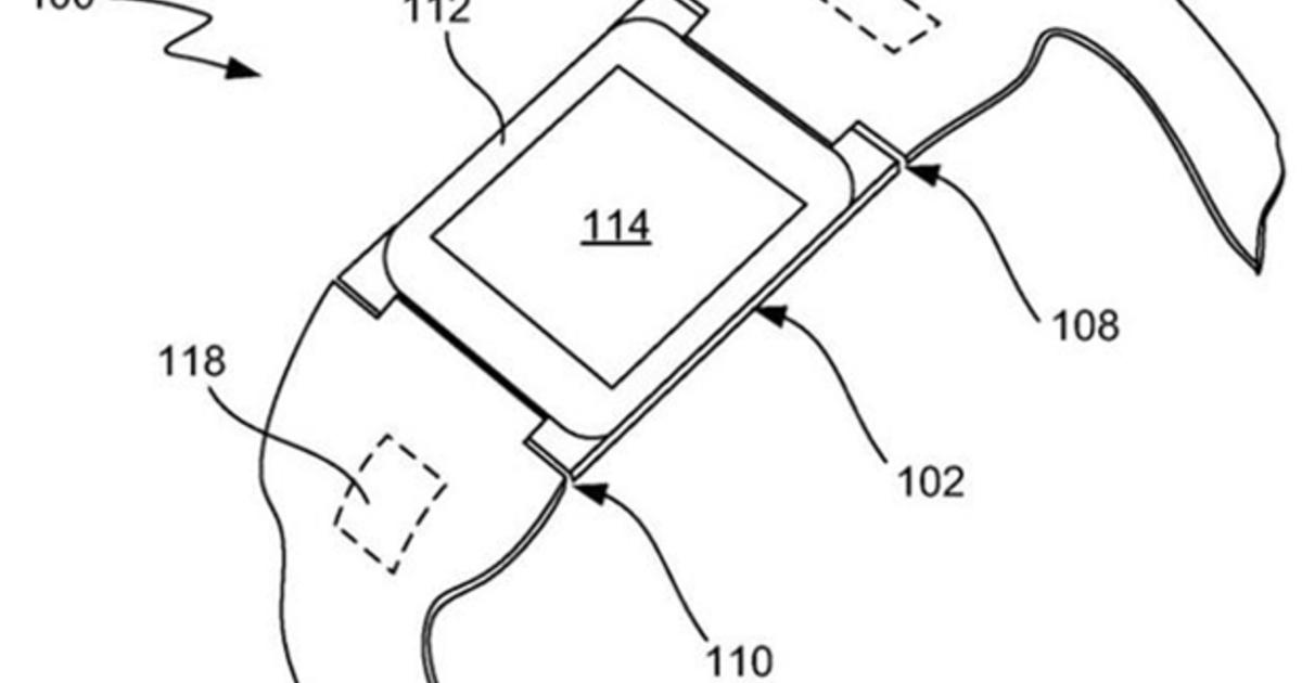 Apple scores patent for