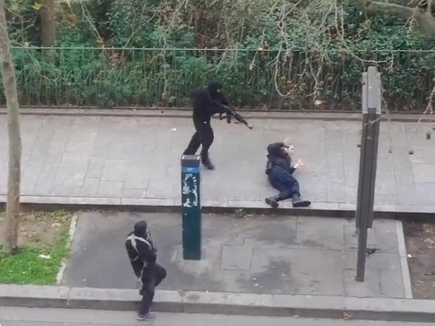 Terror attack in Paris  Paris newspaper attacked  Pictures  CBS News