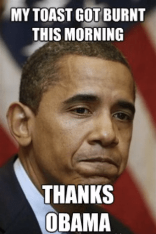 Thanks Obama Hilarious Barack Obama Memes Pictures
