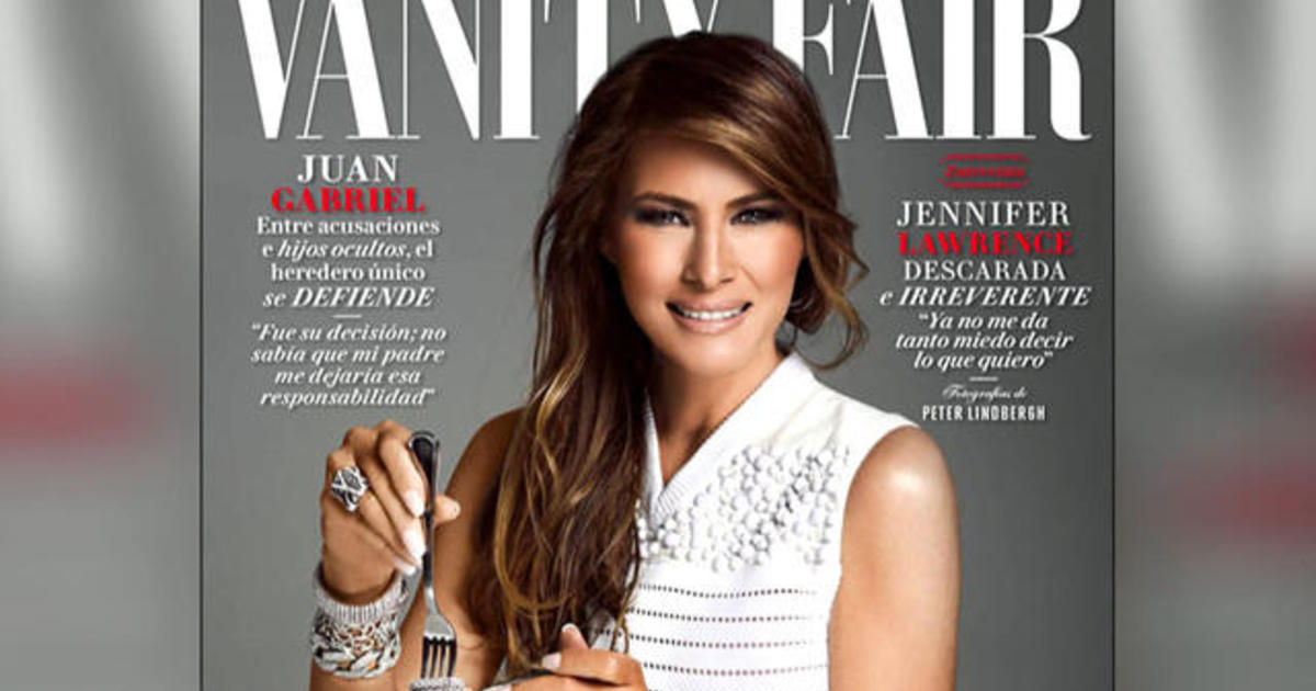 melania trump featured on vanity fair mexico cover as tensions rise between u s mexico cbs news