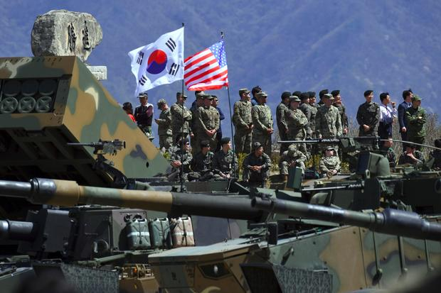 Image result for US & S. KOREA MILitary drills
