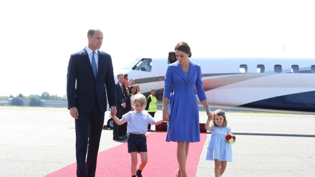 The royal family of Prince William and Kate