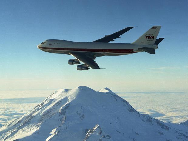 twa boeing s 747
