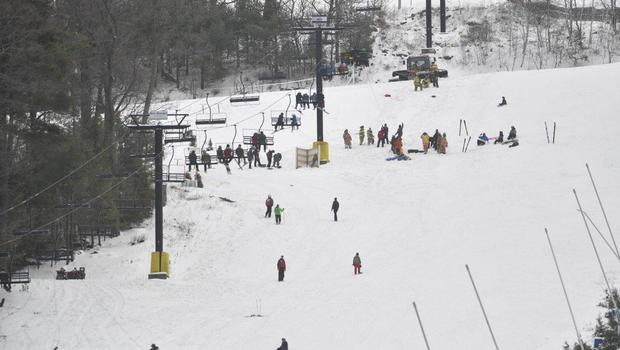 ski chair lift malfunction drive medical tussey mountain resort: chairlift riders