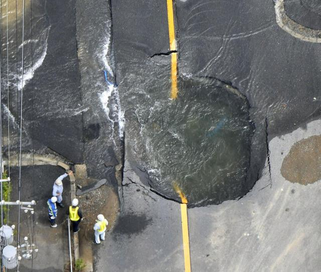Japan Earthquake Today In Osaka Death Toll Climbs After 6 1 Quake Damage To Buildings Cbs News