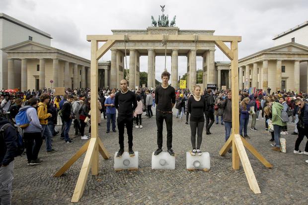 APTOPIX Germany Climate Protests