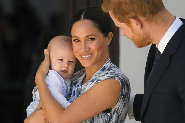 Duke and Duchess of Sussex in South Africa