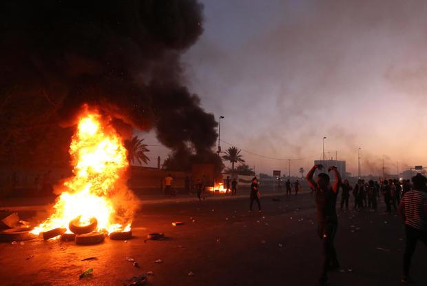 IRAQ-POLITICS-PROTEST