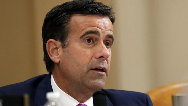 Trump nominates Congressman John Ratcliffe to be director of national intelligence - CBS News