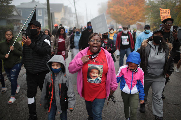 Waukegan Shooting Protests Marcellis Stinnette