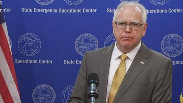 Minnesota Governor Tim Walz announces new COVID-19 restrictions as cases  spike - CBS News