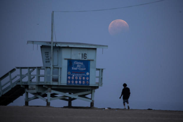 Lunar eclipse USA