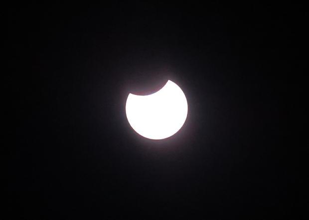 Solar eclipse in Belgiumâââââââ