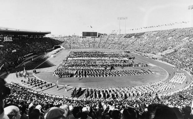 OLY 1964 TOKYO OPENING CEREMONY