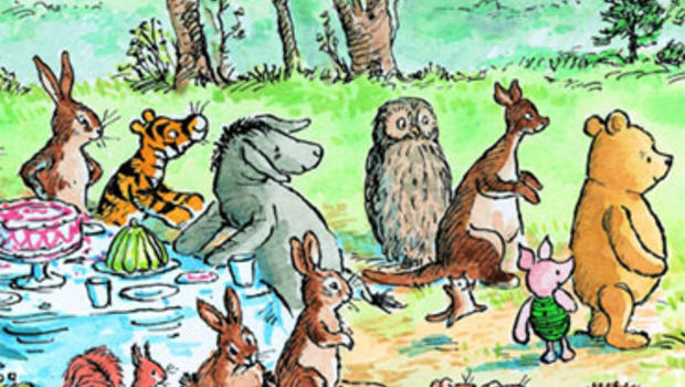 Image result for winnie the pooh book illustrations