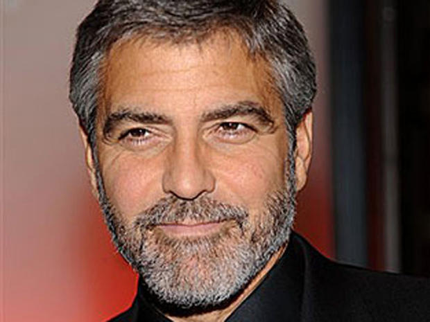 George Clooney Bearded Celeb Style Pictures CBS News