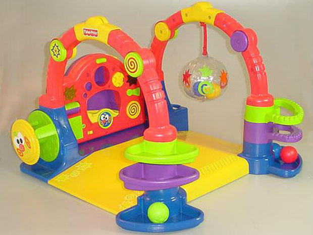 Recalled Baby Gymtastics Play Wall  FisherPrice Toy