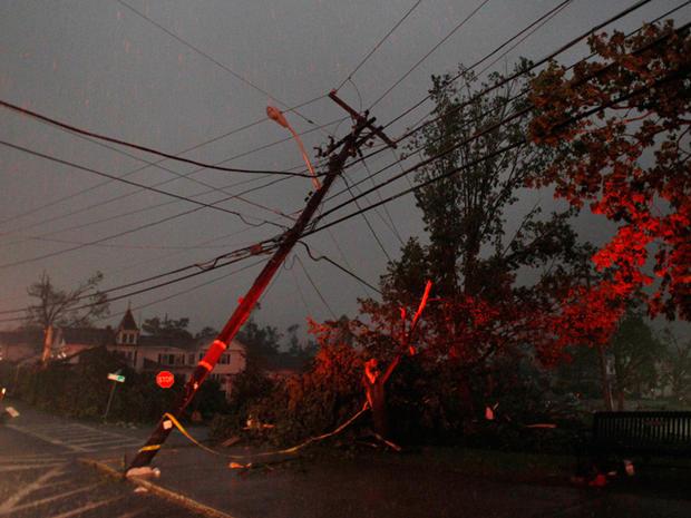 Massachusetts tornado  Photo 1  Pictures  CBS News