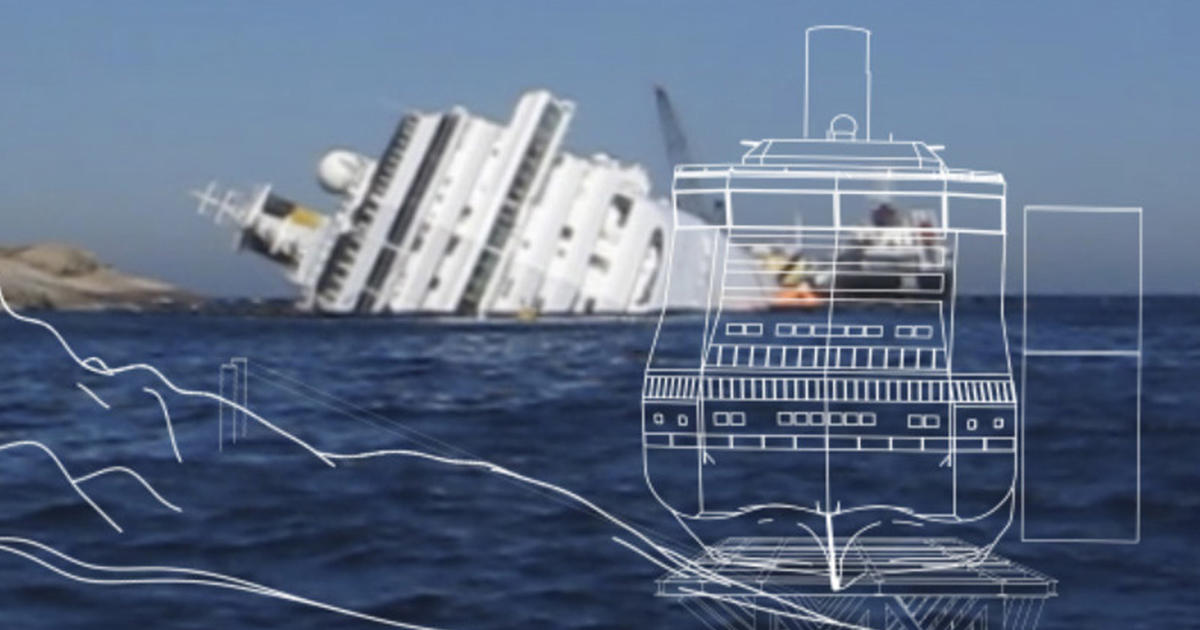 Salvage Company Plans To Get Costa Concordia Out Of