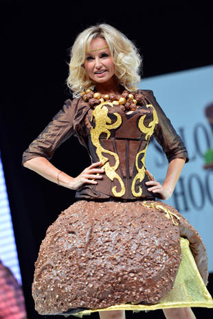 Clothes made out of chocolate  Photo 2  Pictures  CBS News