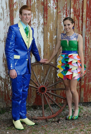 Duct Tape Couture  Duct tape fashions  Pictures  CBS News