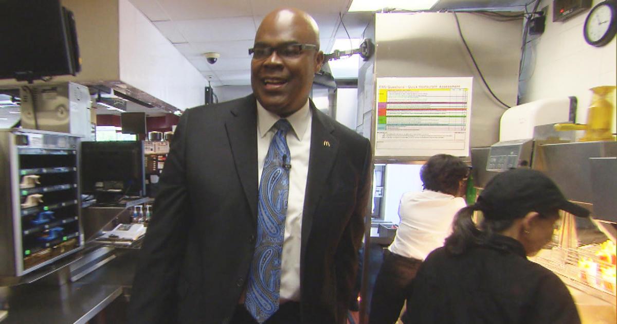 McDonalds CEO Don Thompson Is Still Lovin It CBS News