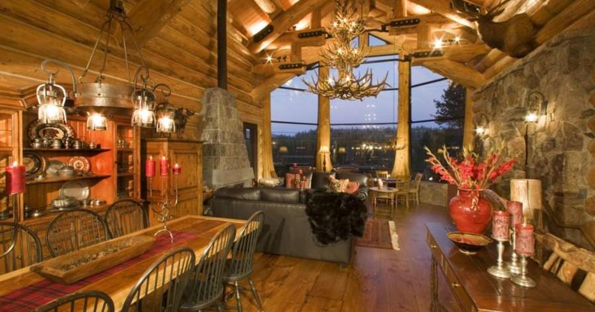 Big Sky Montana 10 Luxurious Log Cabins On The Market